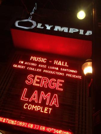 Serge lama olympia