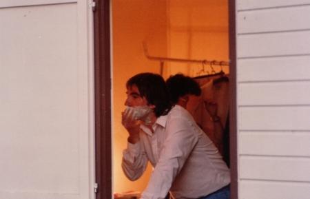 dans sa loge (frejus 1983)